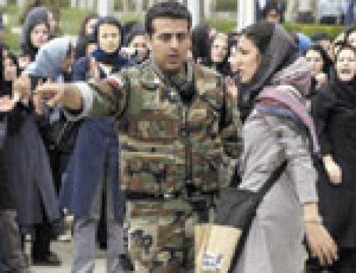 L'Iran lance le fouet automatique pour les mal-voilées.