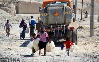 pénurie eau iran