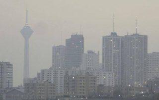 teheran polluee iran