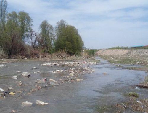 Le fleuve Zandjanroud dans un état lamentable en Iran