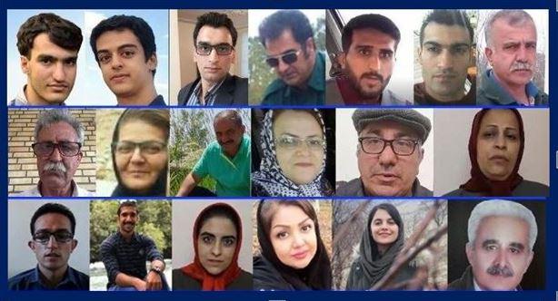 victimes darrestations en Iran