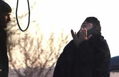 exécution femme iran