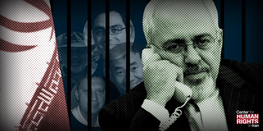 javad zarif min affaires étrangères otages iran