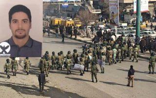 Danial DarabKhani civil kurde iran