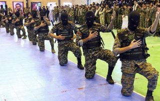 Razavion patrouilles iran