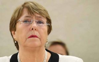 UN High Commissioner for Human Rights Michelle Bachelet exécutions iran