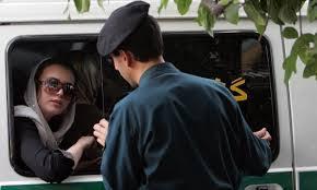 femmes voile SSF police iran