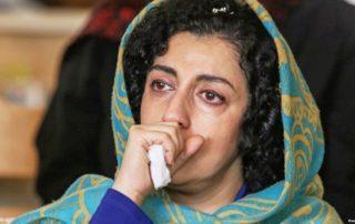 narges mohammadi malade prison iran