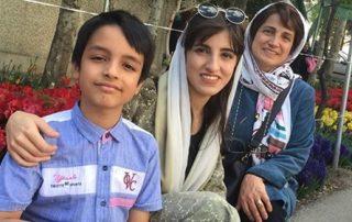nasrin sotoudeh et ses enfants iran