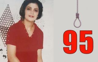 95 femme exécutée iran