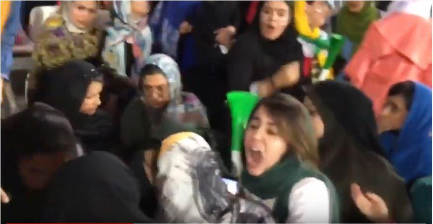 femmes football iran