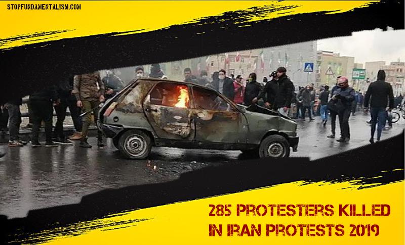 99 personnes tuées manifestations iran