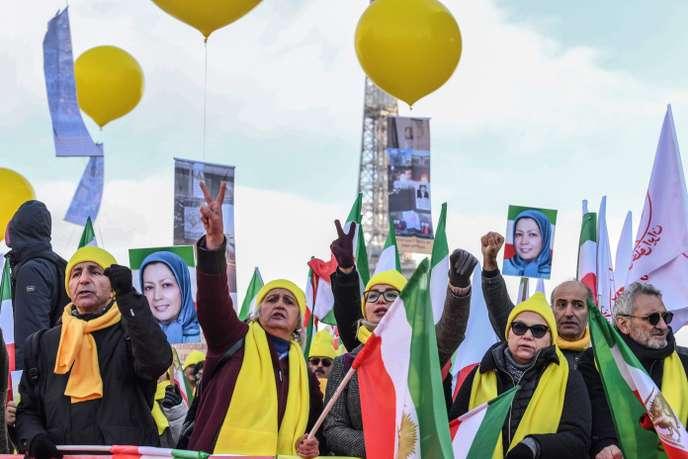 lemonde manifestations iran