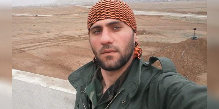 Houshmand Alipour condamné mort iran