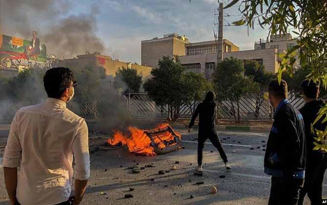 manifestants iran