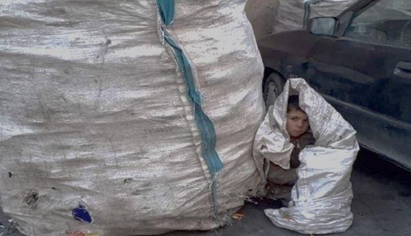 enfants travail rue iran