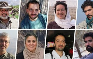 huit environnementalistes iran