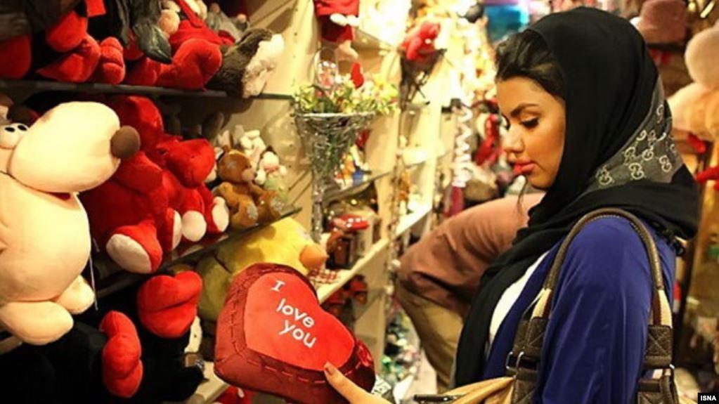 saint valentin iran