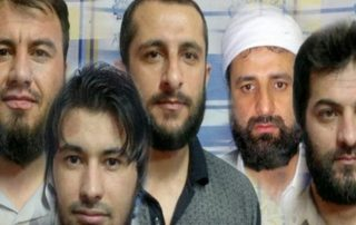 seven Sunni prisoners iran