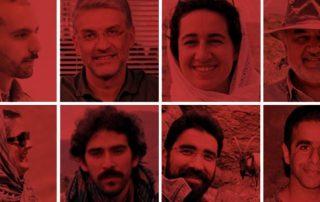 ecologistes iraniens en prison iran