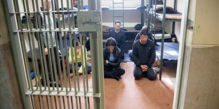 mineur détenu grand pénitencier téhéran iran