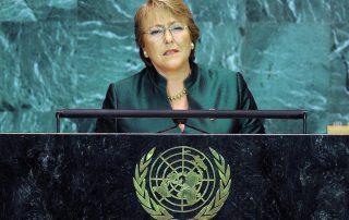Michelle Bachelet exécution mineurs iran