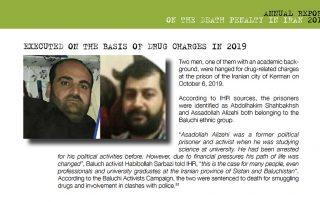 exécutions drogue iran