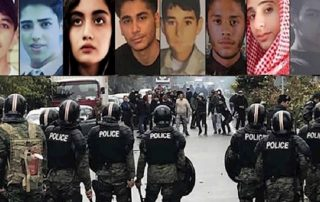 protestation novembre 2019 mineurs tués iran