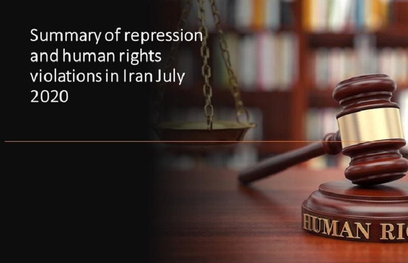 Iran Human rights July 2020