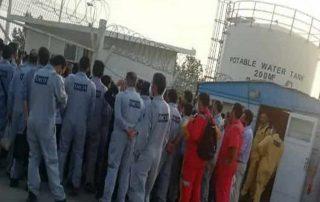 grève massive pétroe iran