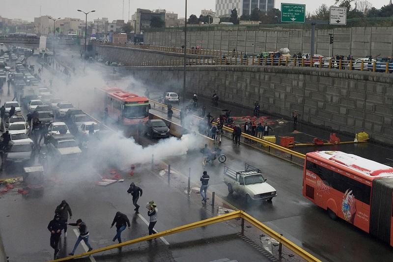 protestation iran