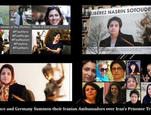 Le Royaume-Uni, la France et l'Allemagne interviennent sur le traitement des prisonniers en Iran