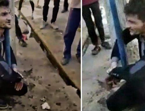 Iran : Un homme, aspergé avec un spray au poivre par la police, est mort