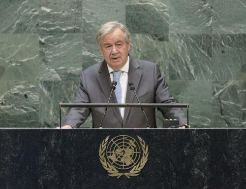 Le Secrétaire général de l'ONU dénonce les violations des droits humains en Iran