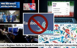 censure du régime d'Iran