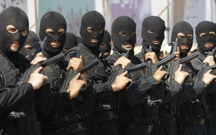 les forces de sécurité de l'Etat