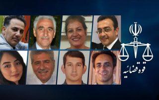 huit bahais condamnés