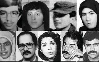prisonniers exécutés iran