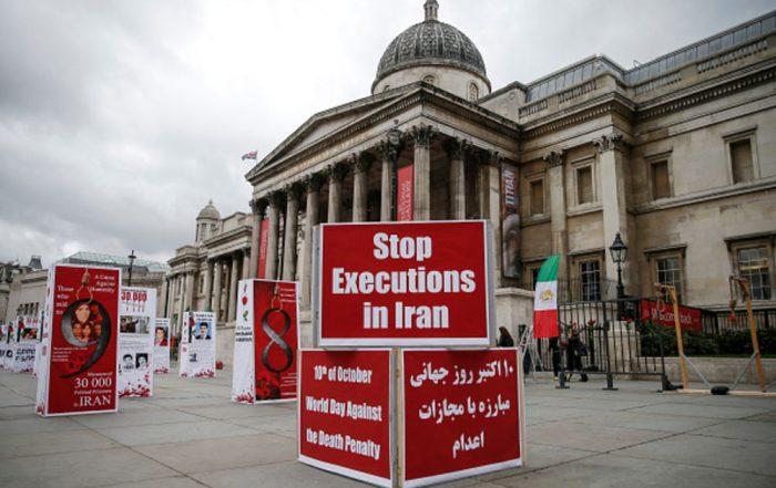 stop exécution iran