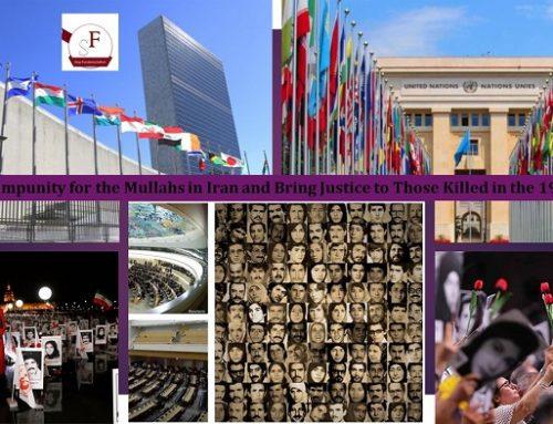 Il est temps de condamner le régime iranien pour « crime contre l'humanité »