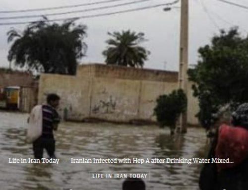 Un Iranien infecté par l'hépatite A après avoir bu de l'eau contaminée par des eaux usées