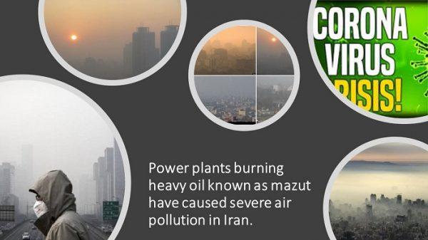 pollution mazout iran