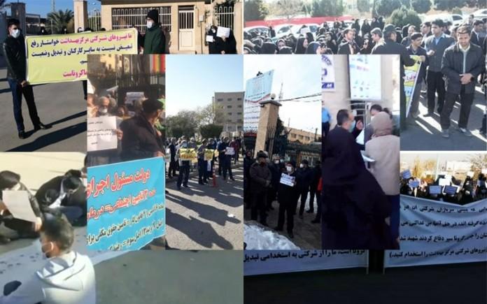 manifestations iran