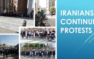 Iranians-Continue-Protests