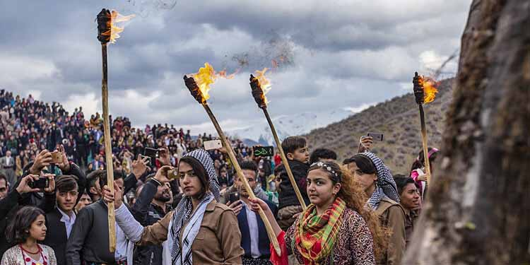 kurdes nowrouz iran