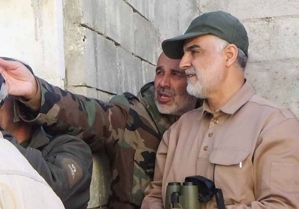 Mohammad-Reza-Fallahzadeh-Right-and-Qasem-Soleimani-Right-at-Syria.