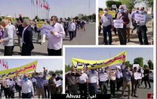 retraités iran
