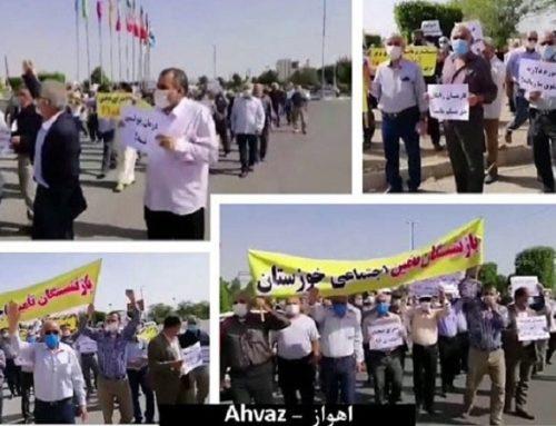 Manifestations en Iran : Les retraités continuent d'organiser des rassemblements dans tout le pays