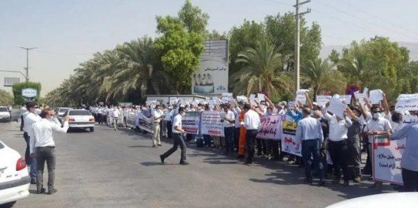 manifestations-employes-du-petrole-iran
