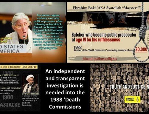 Iran : Ebrahim Raïssi doit faire l'objet d'une enquête pour crimes contre l'humanité